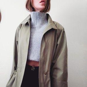 VTG Etienne Aigner *Rare* Olive Green Parka Coat